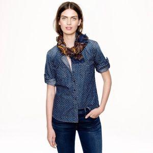 J.Crew denim button down shirt